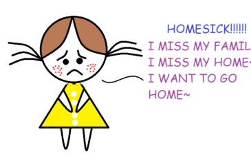 tips mengatasi homesick