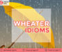 8++ Idiom About Weather